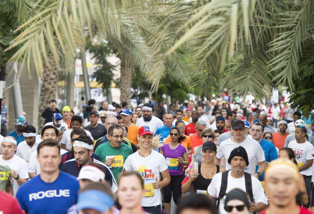 Al Mouj Muscat Marathon ties in with Ministry of Health and Oman Diabetes Association for a Charity Fun Run