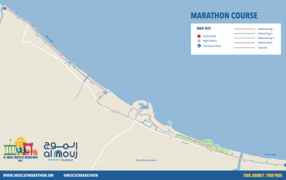 Al Mouj Muscat Marathon routes unveiled highlighting Sultanate's sporting focus