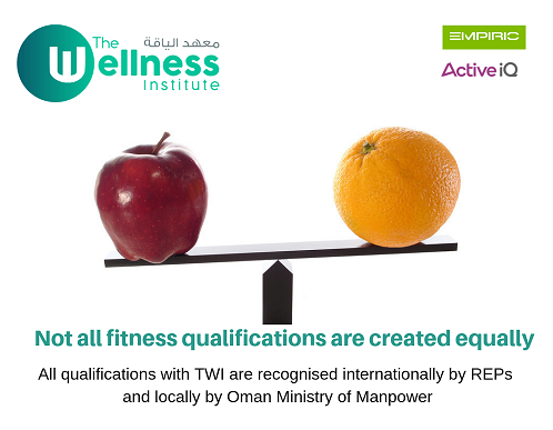 Not all fitness qualification