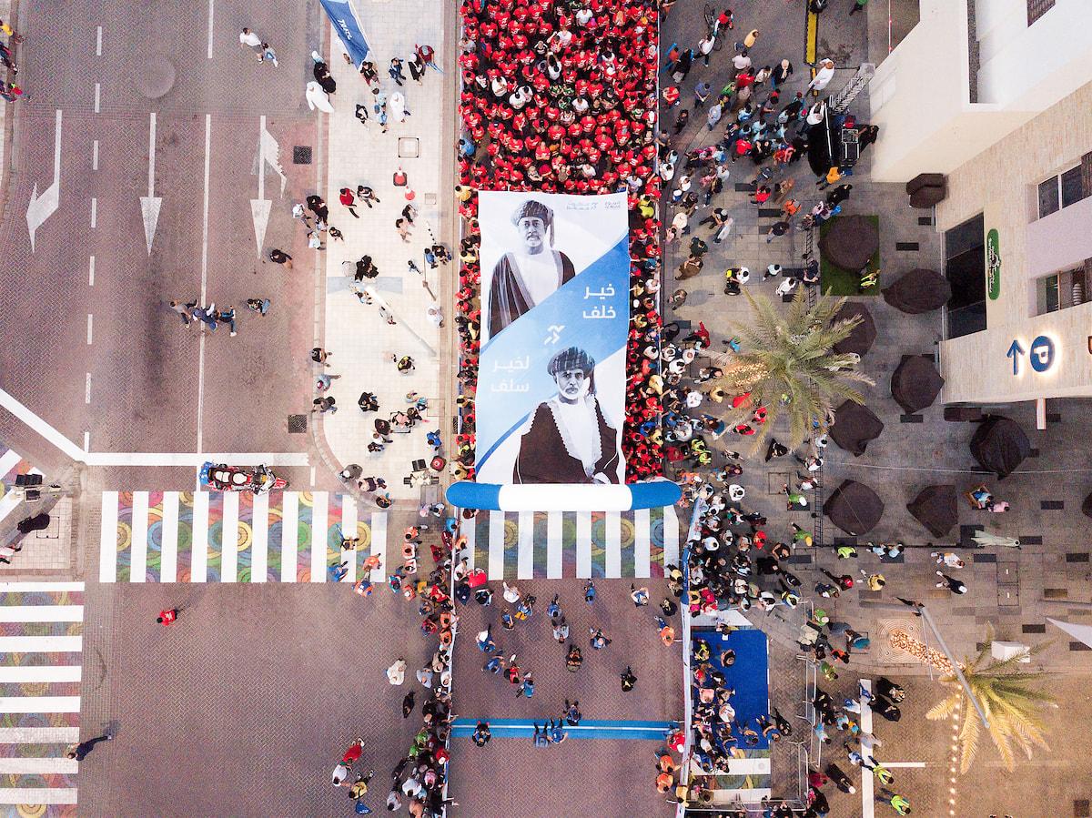 إسدال الستار عن فعاليات النسخة التاسعة من ماراثون الموج مسقط 2020